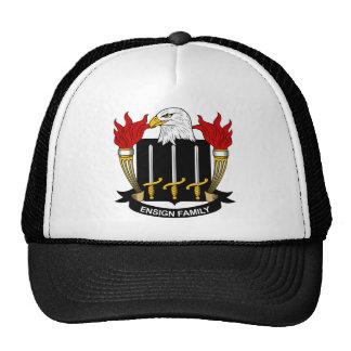 Escudo de la familia de la bandera gorras
