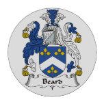 Escudo de la familia de la barba fichas de póquer
