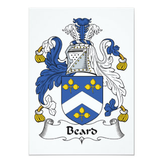 Escudo de la familia de la barba comunicado