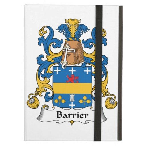 Escudo de la familia de la barrera