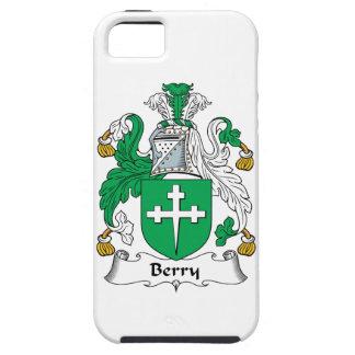 Escudo de la familia de la baya iPhone 5 funda