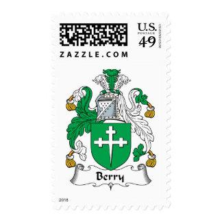 Escudo de la familia de la baya sello