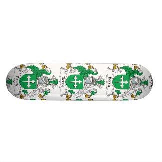 Escudo de la familia de la baya tabla de patinar
