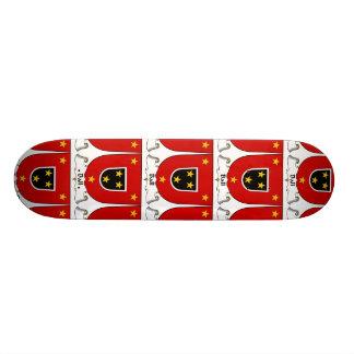 Escudo de la familia de la bola patines personalizados