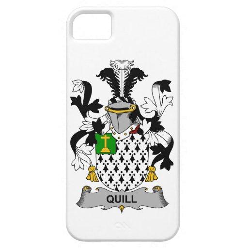 Escudo de la familia de la canilla iPhone 5 carcasas