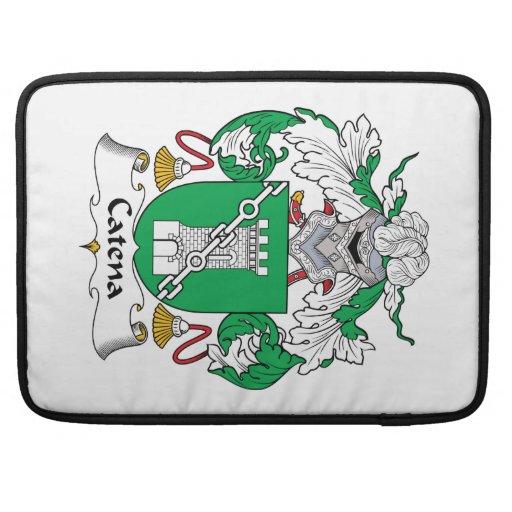 Escudo de la familia de la catenaria funda macbook pro