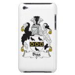 Escudo de la familia de la cebada bigg iPod touch Case-Mate coberturas
