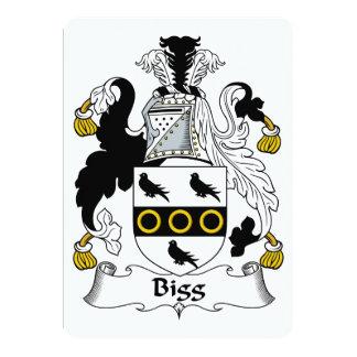 Escudo de la familia de la cebada bigg comunicado