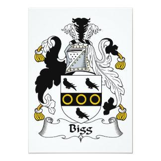 Escudo de la familia de la cebada bigg comunicado personalizado