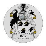 Escudo de la familia de la cebada juego de fichas de póquer
