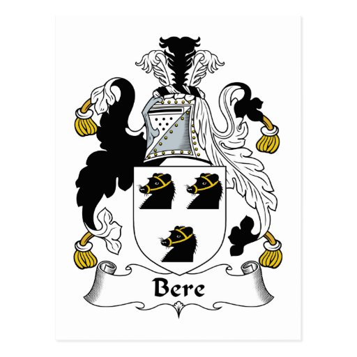 Escudo de la familia de la cebada postales