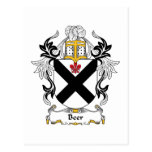 Escudo de la familia de la cerveza postal