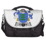 Escudo de la familia de la chaveta bolsas de portátil