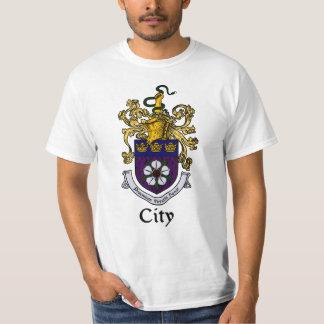 Escudo de la familia de la ciudad/camiseta del camisas