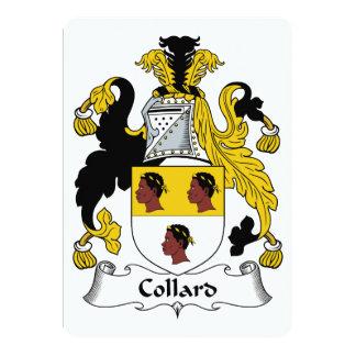 Escudo de la familia de la col com n comunicado personalizado