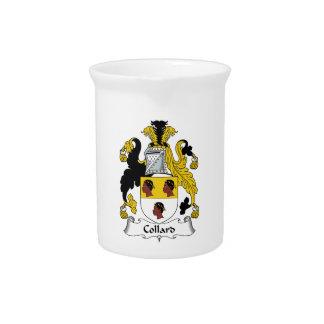 Escudo de la familia de la col com n jarras