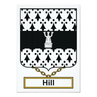 Escudo de la familia de la colina comunicados