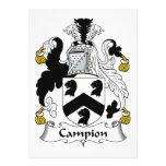 Escudo de la familia de la coronaria anuncios personalizados