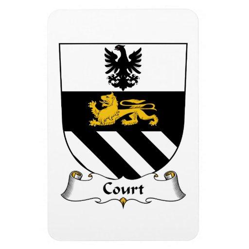 Escudo de la familia de la corte iman