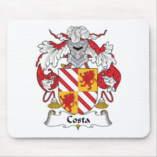 Escudo de la familia de la costa tapetes de ratones
