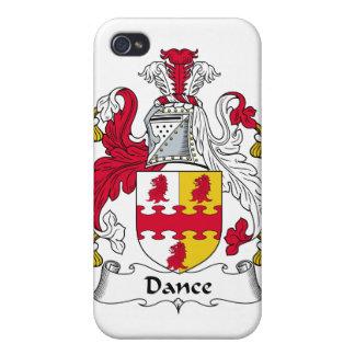 Escudo de la familia de la danza iPhone 4/4S carcasas