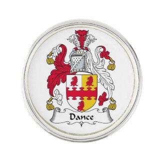 Escudo de la familia de la danza insignia