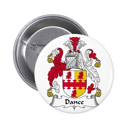 Escudo de la familia de la danza pins