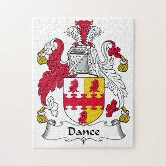 Escudo de la familia de la danza rompecabezas