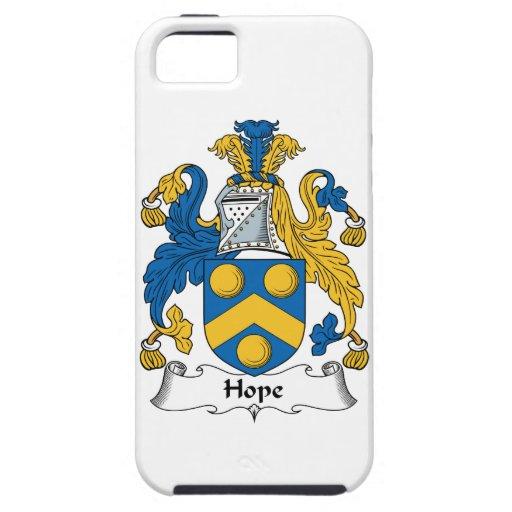 Escudo de la familia de la esperanza iPhone 5 funda