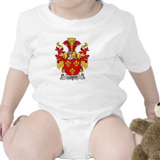 Escudo de la familia de la estocada traje de bebé