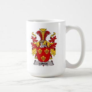 Escudo de la familia de la estocada taza de café