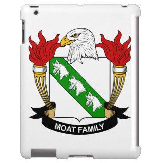 Escudo de la familia de la fosa funda para iPad