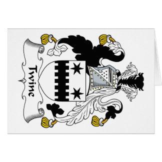 Escudo de la familia de la guita felicitacion