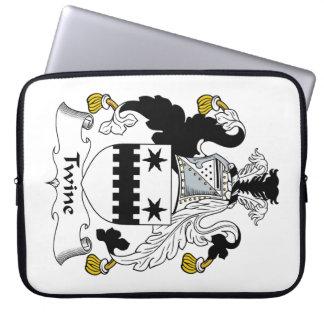 Escudo de la familia de la guita mangas portátiles