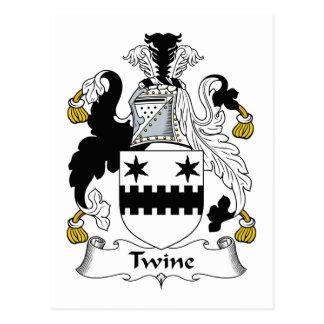 Escudo de la familia de la guita postal