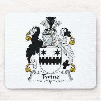 Escudo de la familia de la guita tapetes de raton