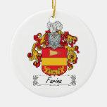 Escudo de la familia de la harina de cereales ornamente de reyes