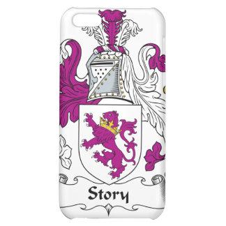 Escudo de la familia de la historia
