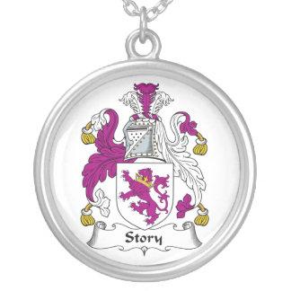 Escudo de la familia de la historia joyerias personalizadas