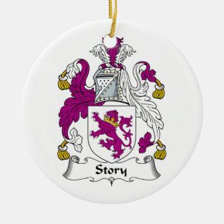 Escudo de la familia de la historia ornamente de reyes