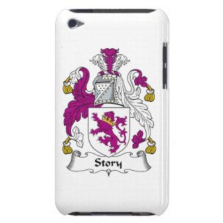 Escudo de la familia de la historia iPod touch Case-Mate carcasa