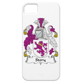 Escudo de la familia de la historia iPhone 5 coberturas