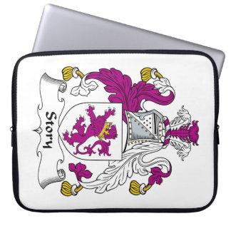 Escudo de la familia de la historia mangas portátiles