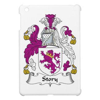 Escudo de la familia de la historia iPad mini fundas