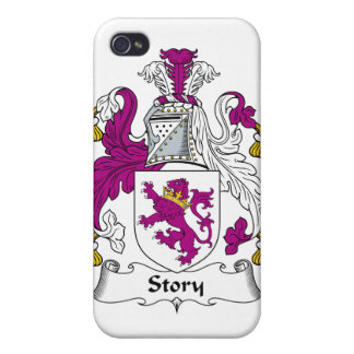 Escudo de la familia de la historia iPhone 4 carcasa