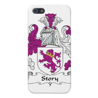Escudo de la familia de la historia iPhone 5 cobertura