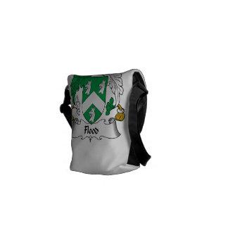 Escudo de la familia de la inundación bolsas de mensajeria