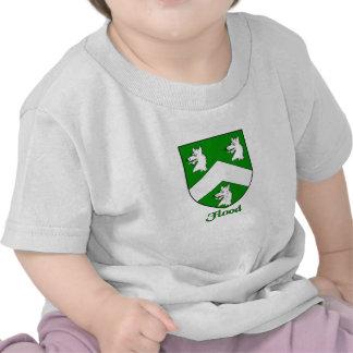 Escudo de la familia de la inundación camisetas