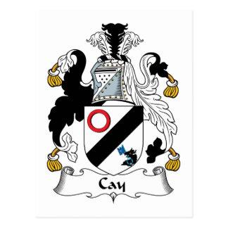 Escudo de la familia de la isleta postal