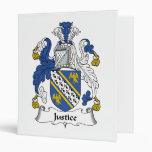 Escudo de la familia de la justicia
